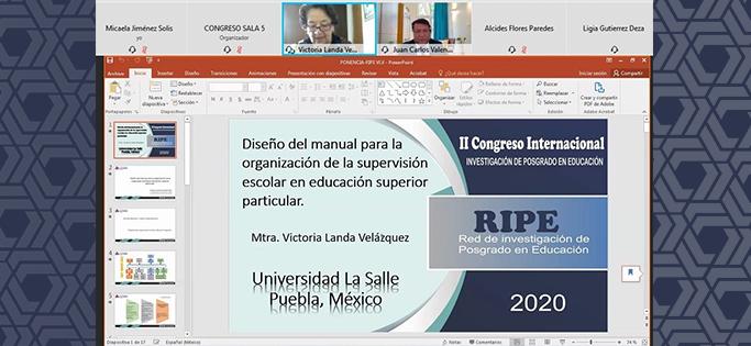 II Congreso de Investigación de Posgrado en Educación RIPE