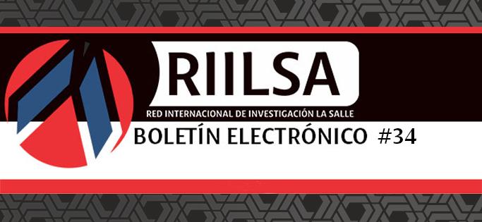 Boletín #34 de la RIILSA